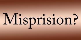 Misprision Petition for Writ of Certiorari