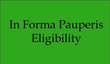 IFP Eligibility Supreme Court