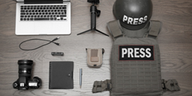 Military Reporter Gear