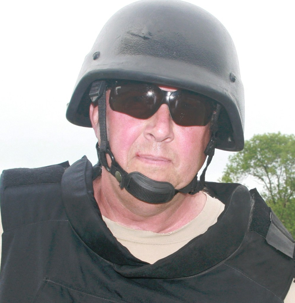 Journalist Wayne Anderson